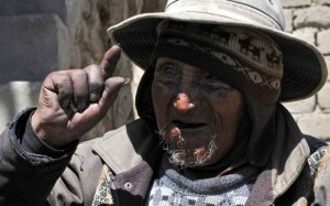 123-year-old Bolivian farmer Carmelo Flores