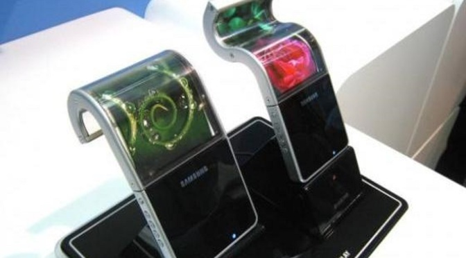 Curved display smartphone this October