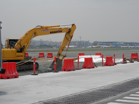 Runway maintenance is crucial ...