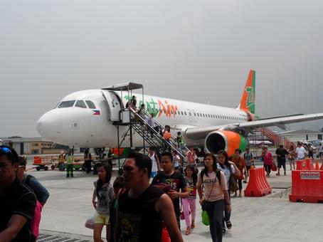 Just landed ...