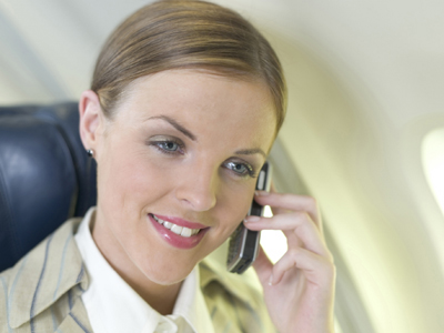 In-flight Cellphone calls.. Soon?