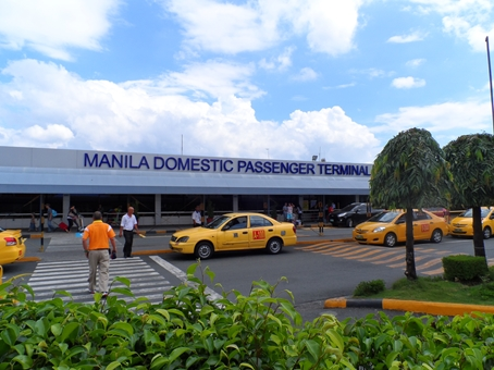 Looking at Manila's Domestic Airport