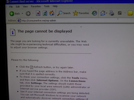 Accessing problems abound whatever the search engine...