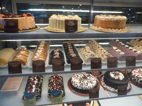 Tasty cake varieties...