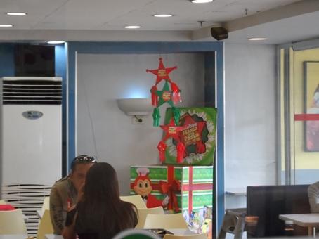 Inside of Jollibee Marcela branch