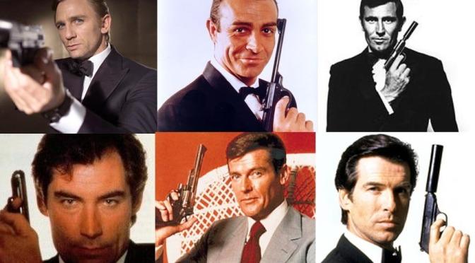 Movie Review: James Bond (Actors)