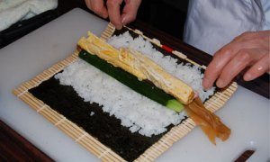 Rolling a Sushi...