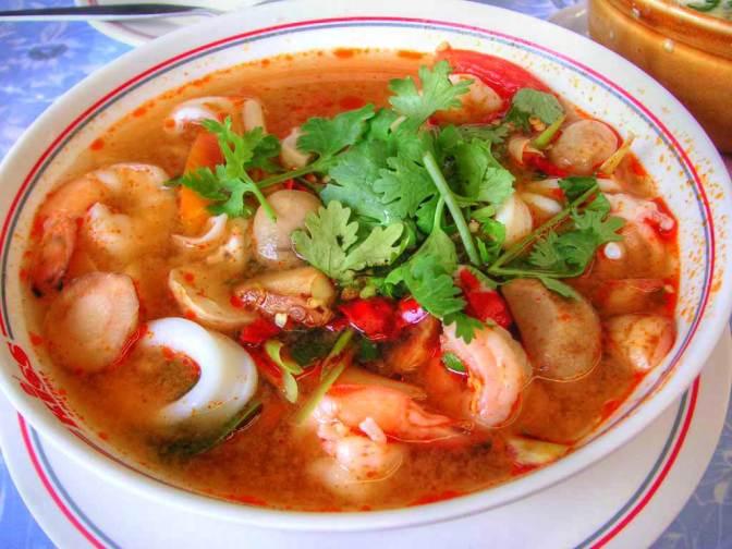 Food Review: Tom Yum Goong (Thai)
