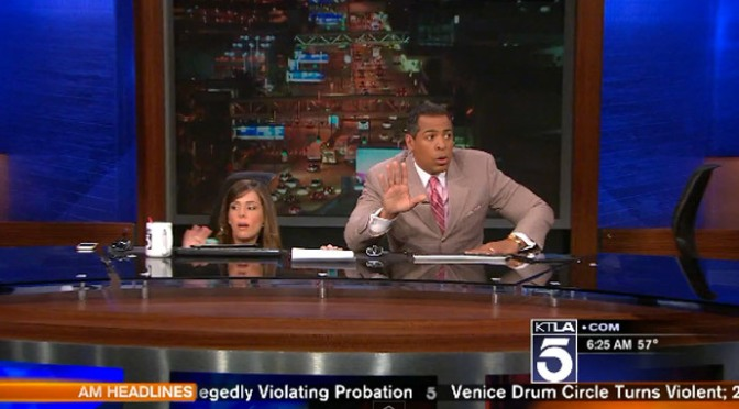 YouTube Review: KTLA St Patricks Day Earthquake 3/17/2014