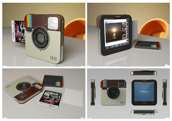 Polaroid Socialmatic camera on Gadget Review