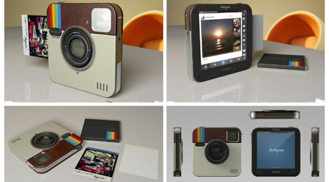 Polaroid Socialmatic camera on Gadget Review