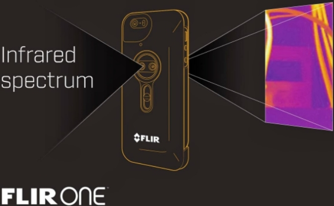 Gadget Review: Flir One Thermal Imaging Case