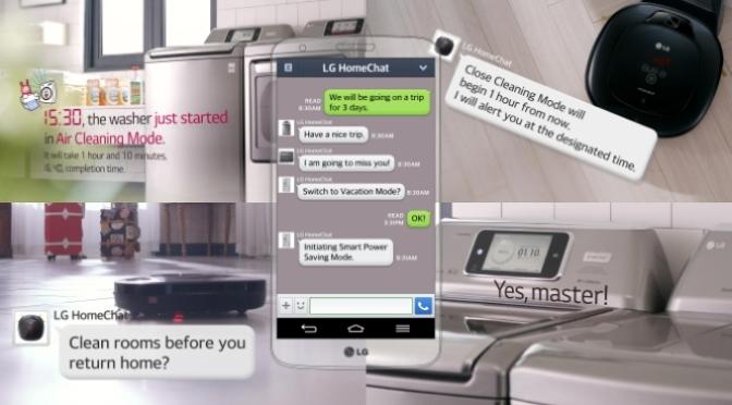 LG HomeChat on Innovation Watch