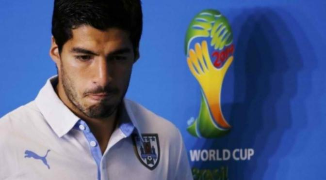 2014 World Cup: Luis Suarez, Uruguayan Striker