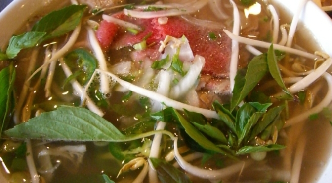 Food Review: Pho (Vietnamese)
