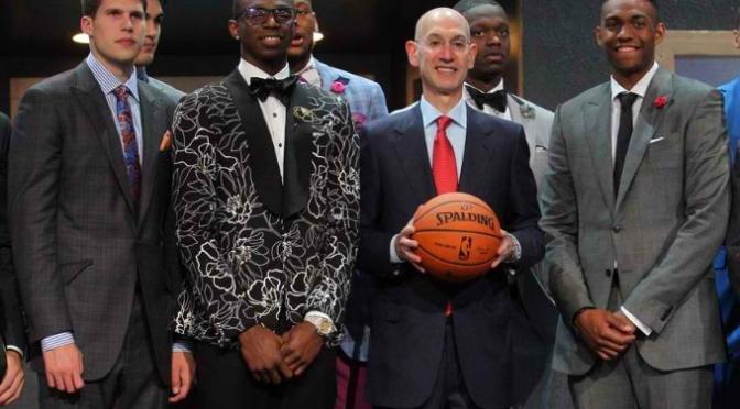 2014 NBA Draft Day Fashion
