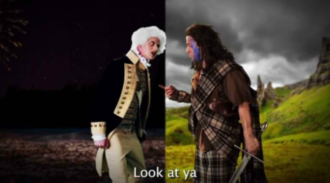 YouTube Review: George Washington vs William Wallace