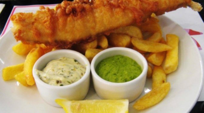 Food Review: Fish and Chips (English)