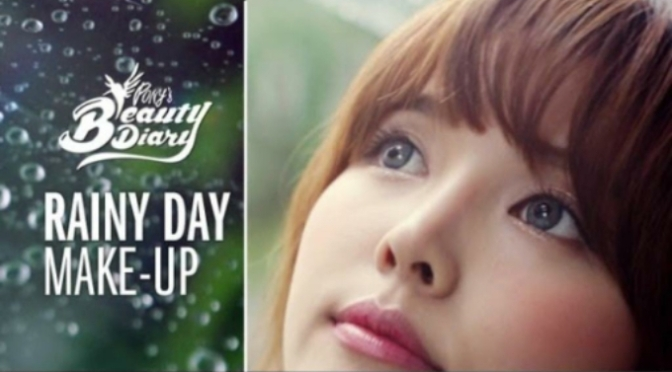 In Style: Rainy Day Make-up