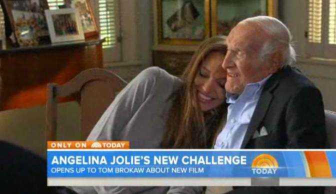 Star Watch: Unbroken's Angelina Jolie and Louis Zamperini