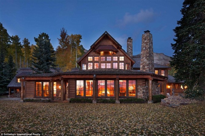 Tom Cruise's Telluride Cabin on My Home