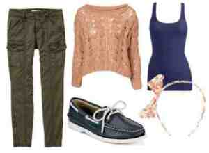 Women's Sperry get-up courtesy of College Fashion..