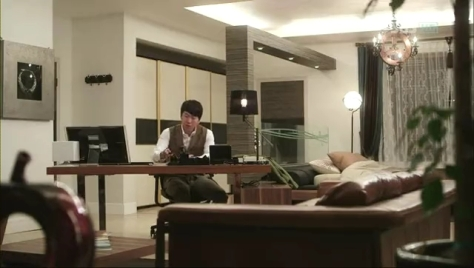Work Area and Bedroom of Im Tae-San...