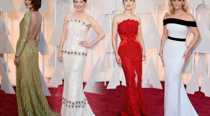 Oscars 2015: Best Dressed – Red Carpet
