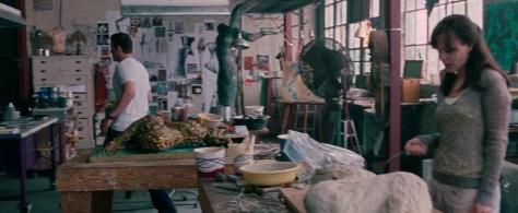 Rachel's art studio