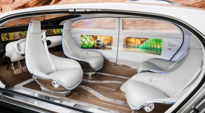 Innovation Watch: Mercedes Benz F 015