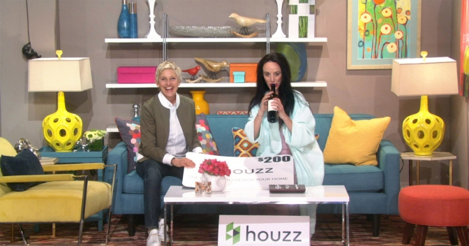 My Home: A Home Makeover from Houzz & Ellen DeGeneres