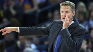Golden State Head Coach Steve Kerr