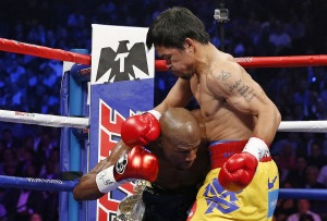 The ropes was Manny's chance