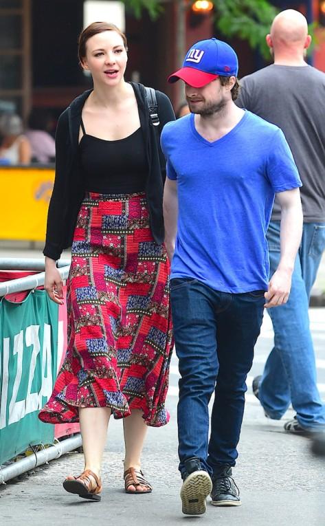 Daniel Radcliffe and Erin Darke