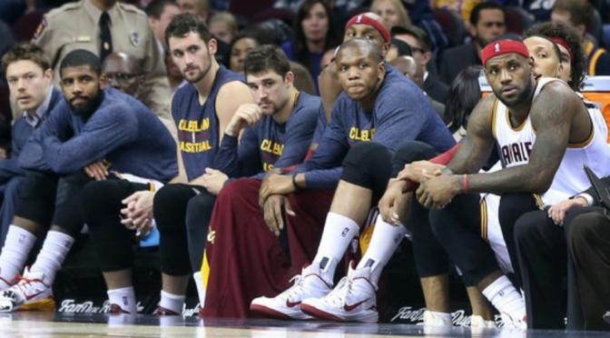 2015 NBA Finals: The King and his Cohorts