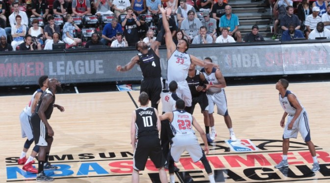 2015 NBA Summer League & Alexey Shved