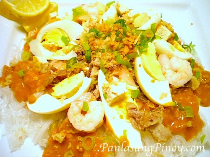 Food & How To: Pancit Palabok (Filipino)