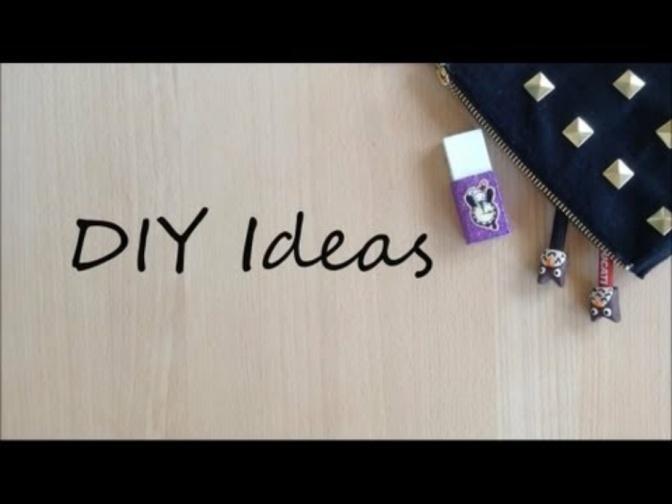 Consumer Videos: Back to School DIY Ideas