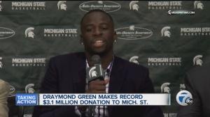 Draymond Green (Photo: wxyz Detroit)
