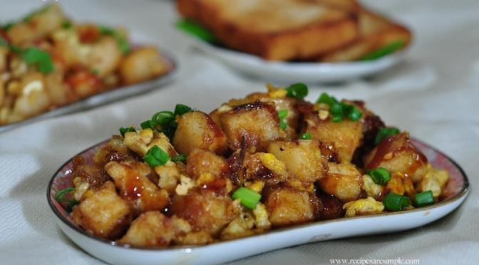 Food & How To: Chai Tow Kuay (Singaporean)