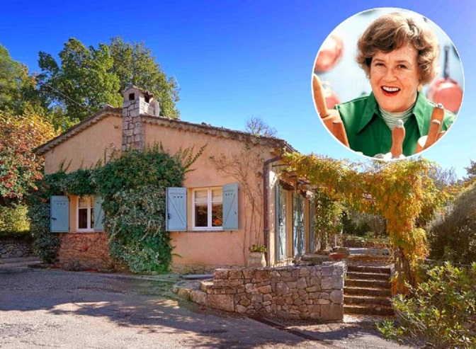 My Home: Julia Child's French Cottage