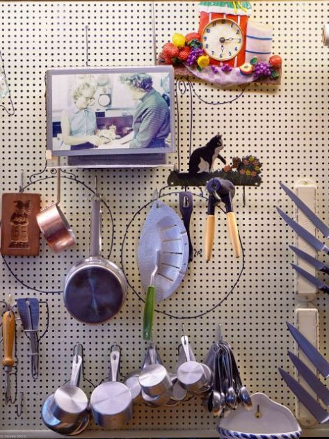 Pegboards: Creativity at the Kitchen