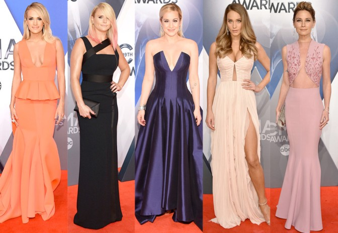 Fashion Watch: Best Dressed – 2015 CMA Awards Red Carpet