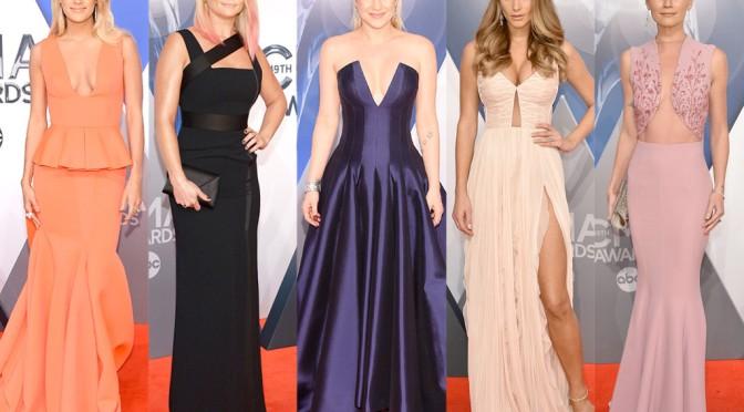 Fashion Watch: Best Dressed – 2015 CMA Awards Red Carpet