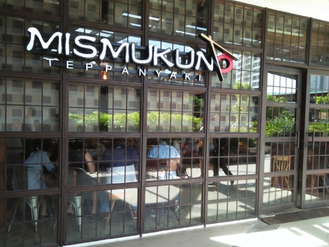Simple Experiences: Mismukuno Teppanyaki (Ayala Center Cebu)