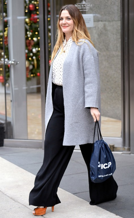 Drew Barrymore in New York