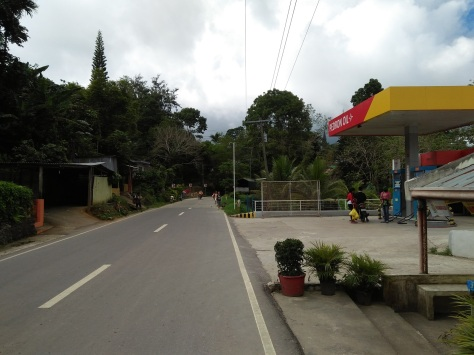 Road to Osmena Peak...