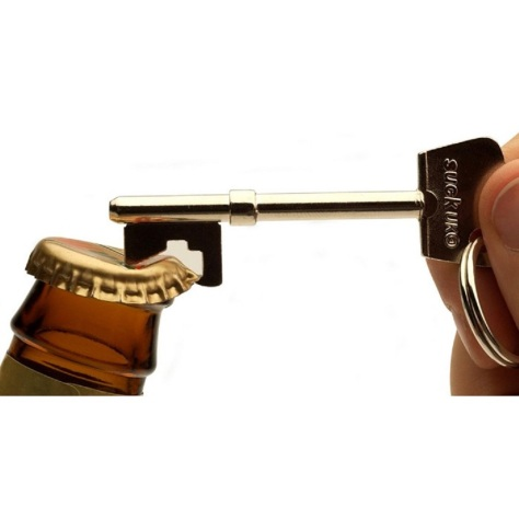 Key Bottle Opener for $9.75 at GentSupply
