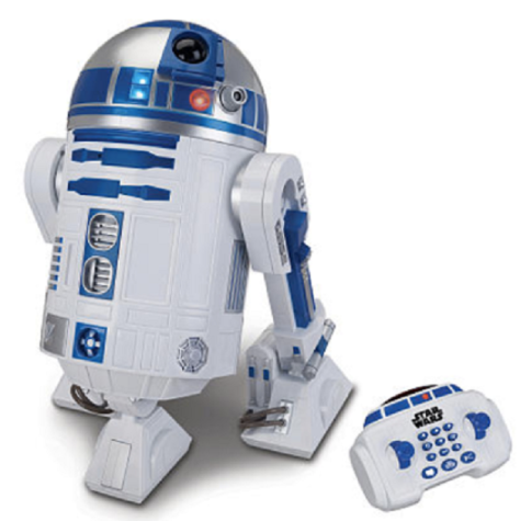 Star Wars R2-D2 Interactive Robotic for $204.99 + 8.49 Shipping Fee at Amazon.com