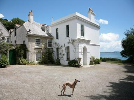 porthpean side of the house